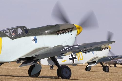 Buchon Bf109s at Duxford Air Shows