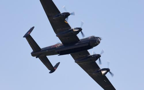 Avro Lancaster at Duxford Air Shows