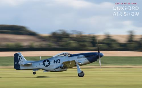 P-51D Mustang Miss Helen at Duxford Air Shows