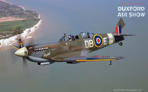 Spitfire T9 operated by Aerolegends