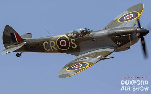 Spitfire Mk.XVI TD248 atDuxford Air Shows