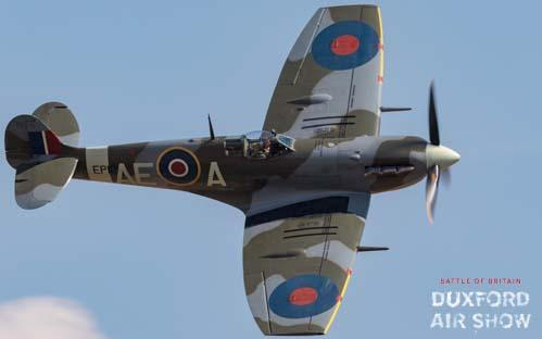 Spitfire Mk.Vb EP120 at Duxford Air Shows