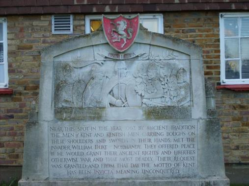 Men of Kent war memorial