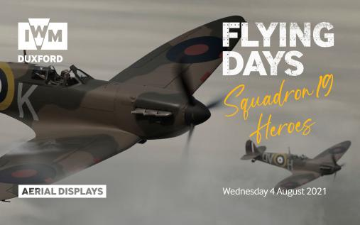 Flying Days: Squadron 19 Heroes event at IWM Duxford