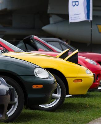 IWM Duxford spring car show