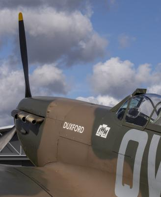 Spitfire Mk1a ourside AirSpace
