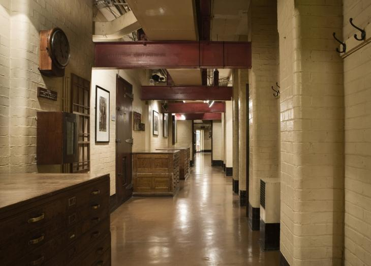 Churchill War Rooms Interior Hall