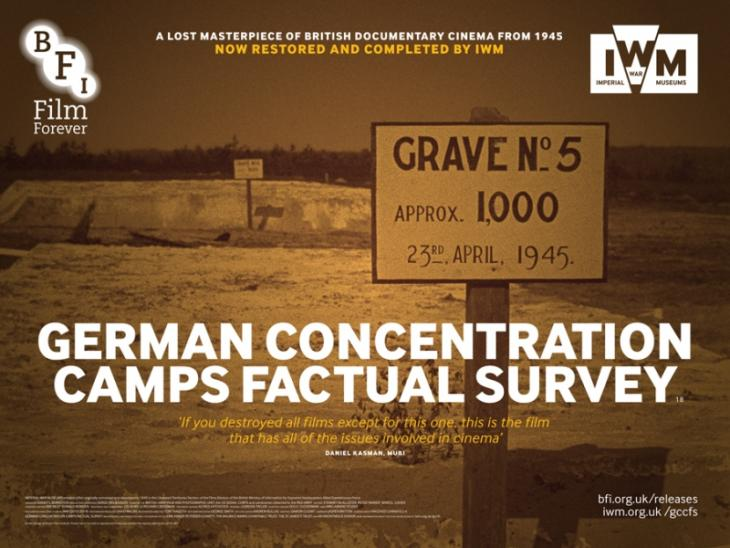 German Concentration Camp Survey Film DVD cover