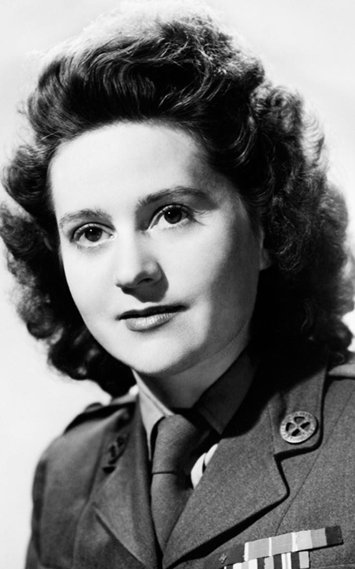 A photograph of Lieutenant Odette Marie-Céline Sansom who was awarded the George Cross