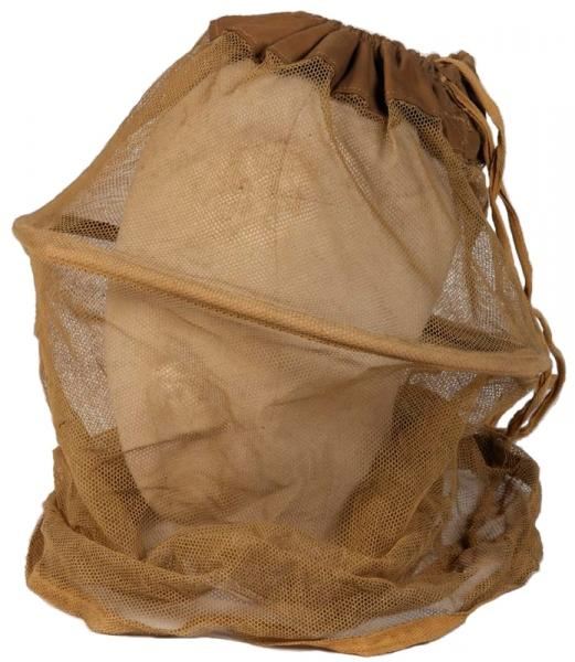 First World War period mosquito net issued to British troops.