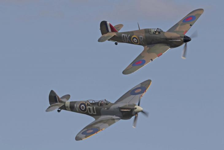 Battle of Britain Air Show Spitfires