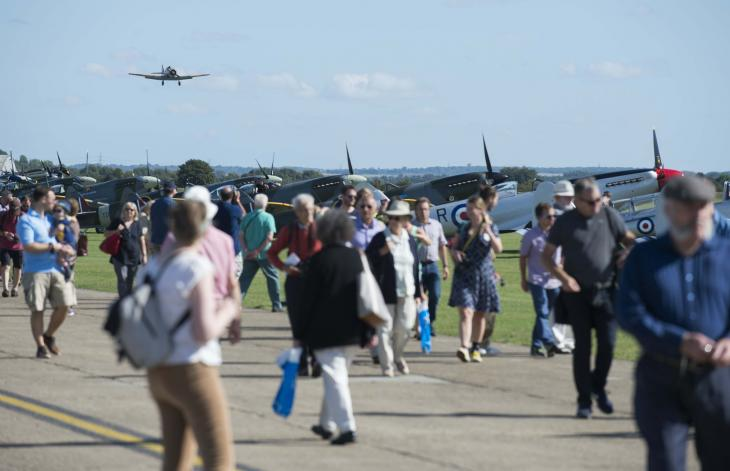 Duxford Air Show Concourse