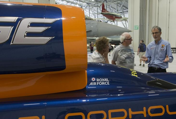 Bloodhound SSC at Duxford Air Festival 2017