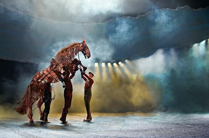 War Horse at the New London Theatre, Photo by Brinkhoff Mögenburg © National Theatre