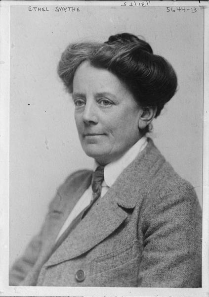 Ethel Mary Smyth © George Grantham Bain Collection (Library of Congress).