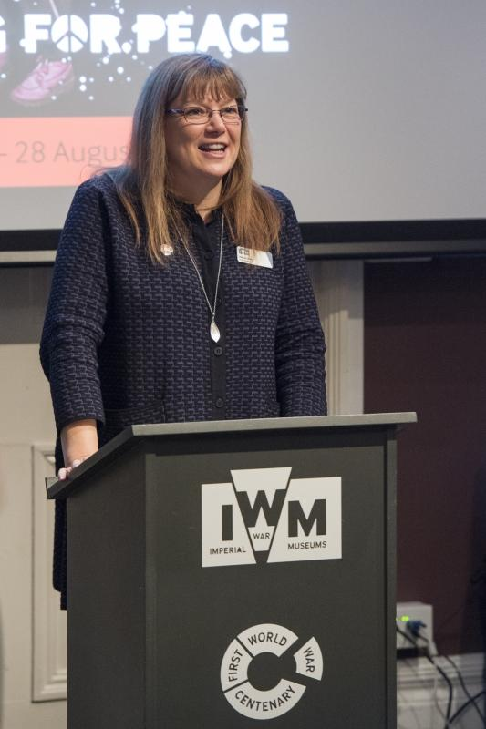 Diane Lees, Director General of IWM.