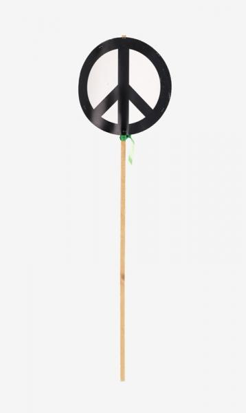 Original nuclear disarmament symbol placard carried by Ernest Rodker at the first Aldermaston march in 1958.