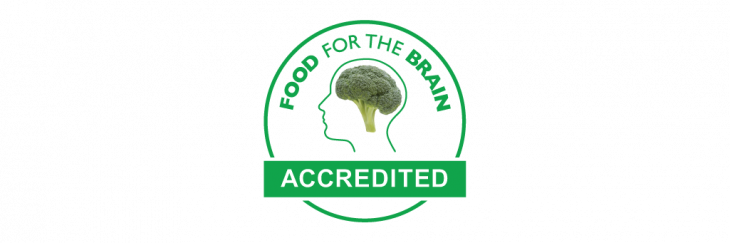 Food for the Brain Accredited logo
