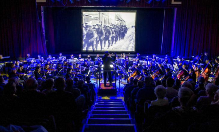 Somme 100 film at Falkirk Town Hall
