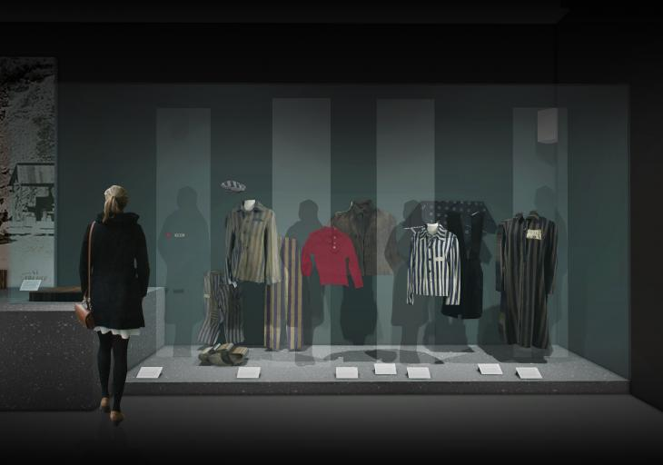 MA concept image IWM's new Holocaust galleries