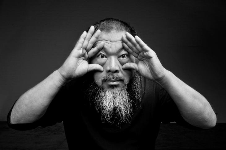 Portrait of Ai Weiwei