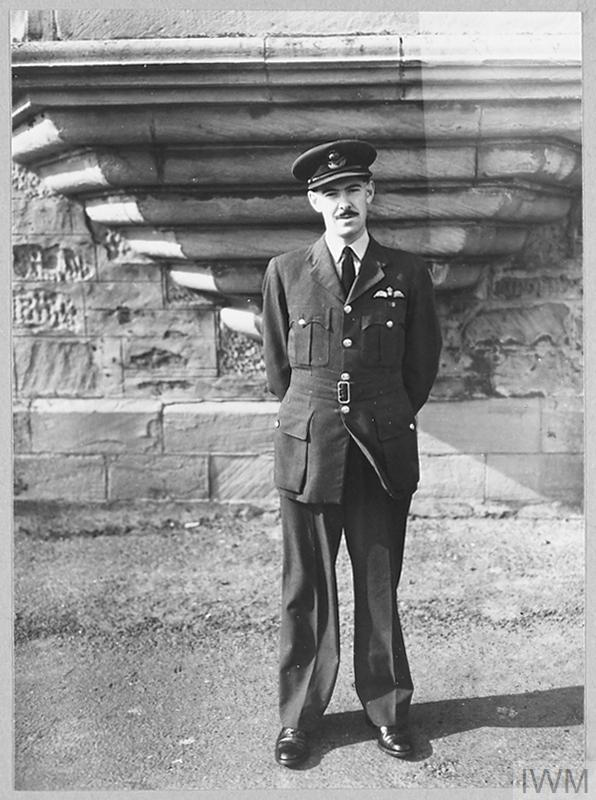 John Cruickshank full length photograph