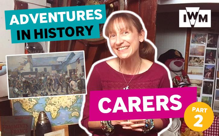 Adventures in History: Carers Part Two graphic
