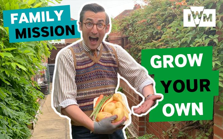 Poster image for IWM's Family Mission: Grow Your Own
