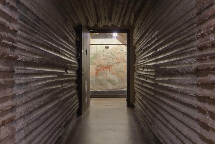 A tunnel at the Churchill War Rooms